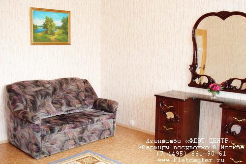 Квартира посуточно на м.Молодёжная,Рублёвское ш.д.81 к.2.