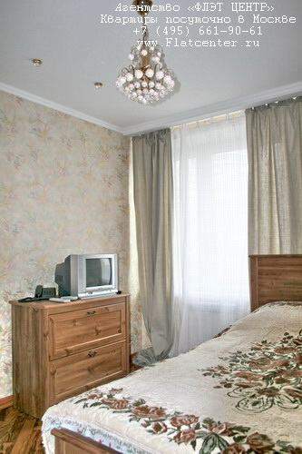 Квартира посуточно в Москве рядом м.Тульская.Гостиница на площади Гагарина