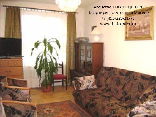 Квартира посуточно на м.Смоленская,Смоленская  д.10.