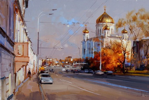 Фото района у м.Смоленская