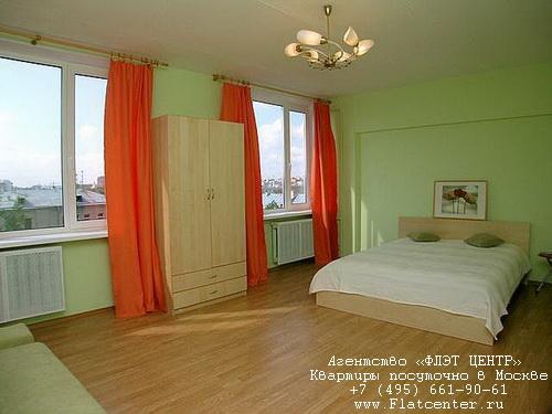 Квартира посуточно на м.Смоленская,Новинский бульвар д.15.