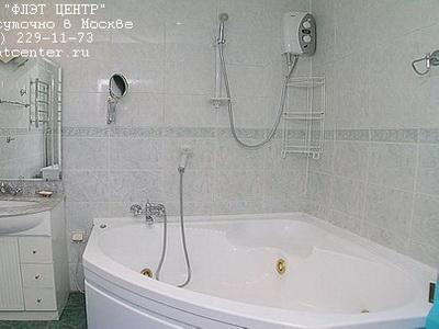 Джакузи в апартаментах посуточно на Старом Арбате в Москве