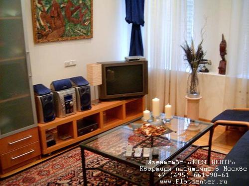 Квартира посуточно на м.Смоленская,ул.Арбат д.47.