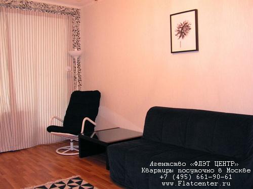 Квартира посуточно на м.Смоленская,Гагаринский пер. д.27.
