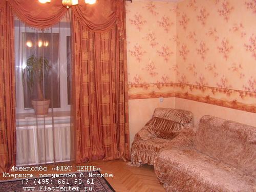 Квартира посуточно на м.Смоленская,Карманицкий пер д.5.