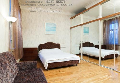 Квартира посуточно на м.Смоленская,ул.Новый Арбат д.23.