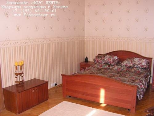 Квартира посуточно на м.Смоленская,Б.Николопесковский д.3.
