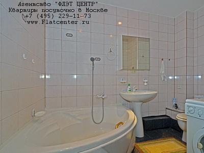 Квартира с джакузи у метро Смоленская в Москве с посуточной арендой