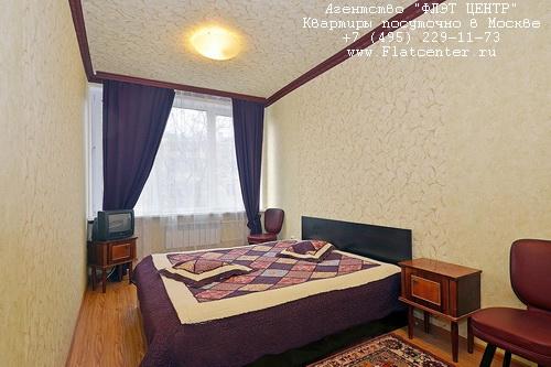Квартира посуточно на м.Смоленская,ул.Новый Арбат д.26.