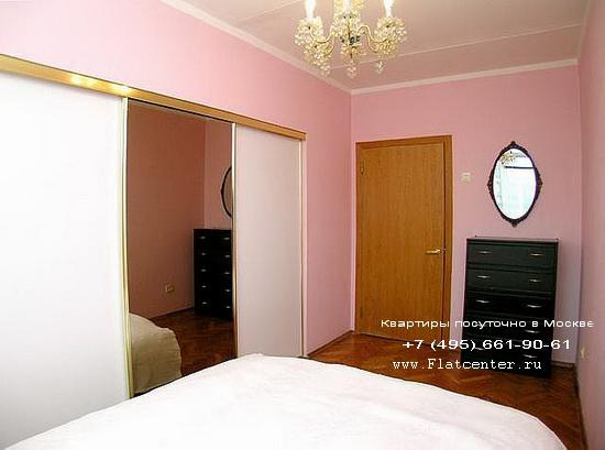 Квартира посуточно на м.Смоленская.Гостиница на новинском Бульваре