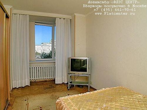 Квартира посуточно на м.Смоленская,Ростовская наб., 1.