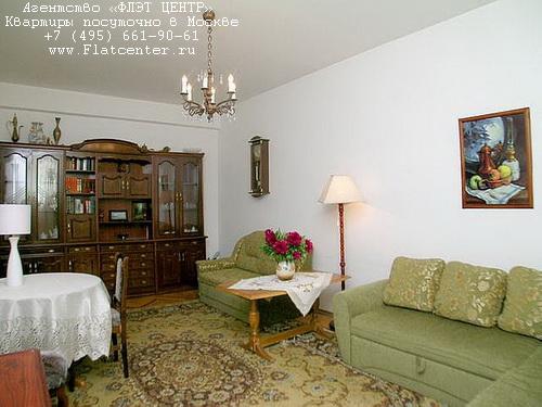 Квартира посуточно на м.Смоленская,ул.Смоленская д.3.
