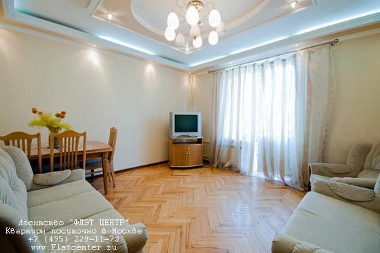 Квартира посуточно на м.Смоленская,ул.Смоленская д.7.