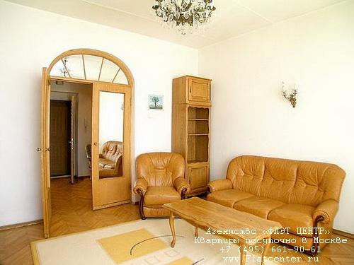 Квартира посуточно на м.Смоленская,1-й Смоленский пер д.9.