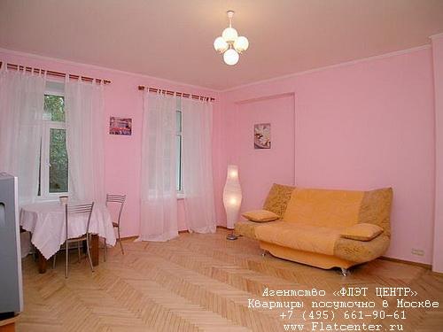 Квартира посуточно на м.Смоленская,Панфиловский пер д.6.