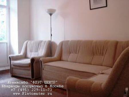 Квартира посуточно на м.Смоленская,ул.Смоленская д.10.
