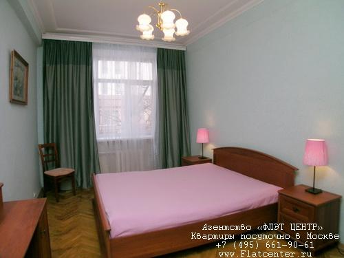 Квартира посуточно на м.Смоленская,Панфиловский пер-к д.5.
