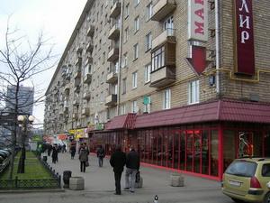 Фотография дома по адресу Ленинградский Проспект д.78 в Москве