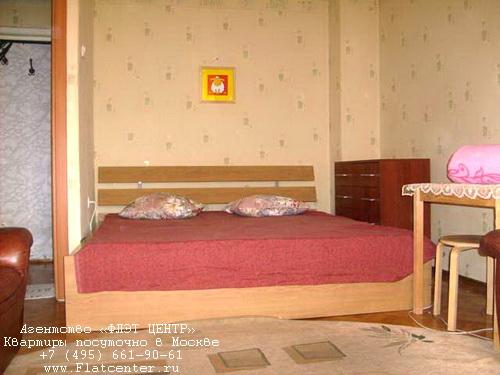 Квартира посуточно на м.Сокол,ул.Песчаная д.8.