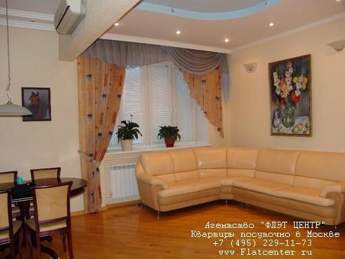 Аренда посуточно метро Фрунзенская, ул.Комсомольский пр-т д.46 кор.1