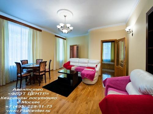 Квартира посуточно в Москве рядом м.Спортивная.Аппартаменты на Кооперативной