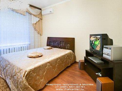 Квартира посуточно в Москве рядом м.Спортивная.Гостиница у Лужников
