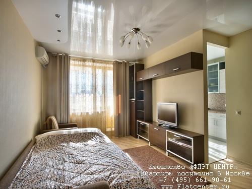 Квартира посуточно на м.Спортивная,ул. Б. Пироговская 29/31.