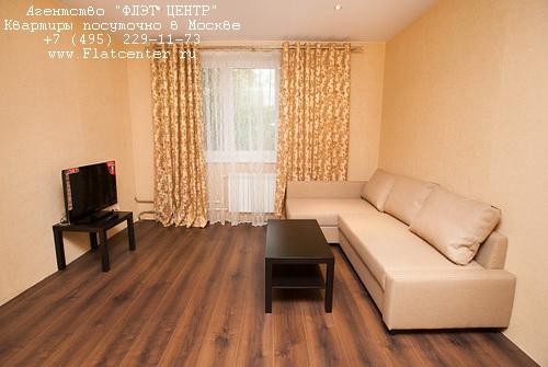 Квартира посуточно на м.Строгино,Строгинский бул. д.17к1.