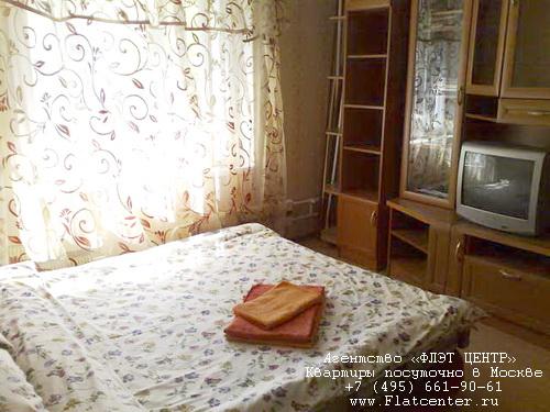 Квартира посуточно на м.Таганская,Землянский пер. 3.