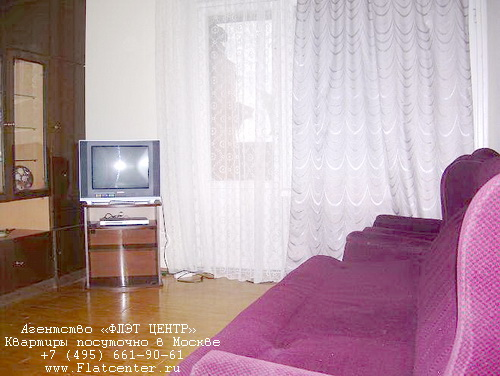 Квартира посуточно в Москве рядом метро Шаболовская.