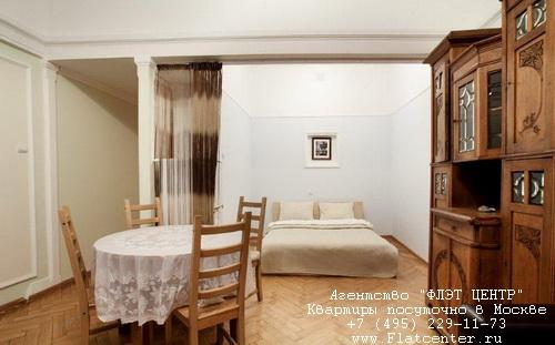 Квартира посуточно на м.Тверская,Б.Гнездниковский пер. д.10.