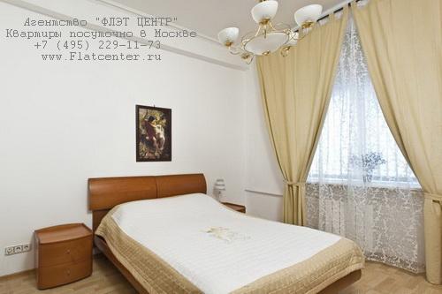 Квартира с посуточной арендой на м.Тверская,Тверская д.17.