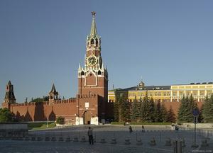 Фото Спасской башни Московского Кремля