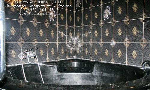 Джакузи в квартире посуточно в Москве, рядом с м.Улица 1905 Года, 2-я Черногрязская д.9