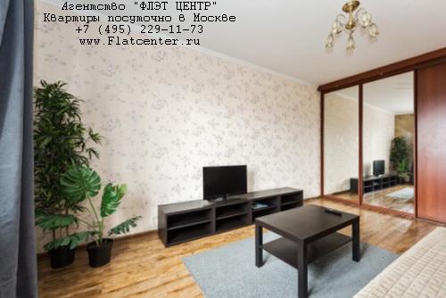 Квартира посуточно на м.Ул. 1905 Года,ул.Б.Декабрьская д.4.
