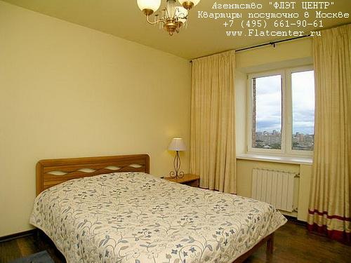Квартира посуточно на м.Ул.1905 года,ул.Б. Декабрьская, д.1 .