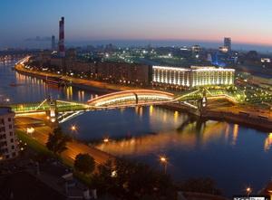 Фото мост Багратион