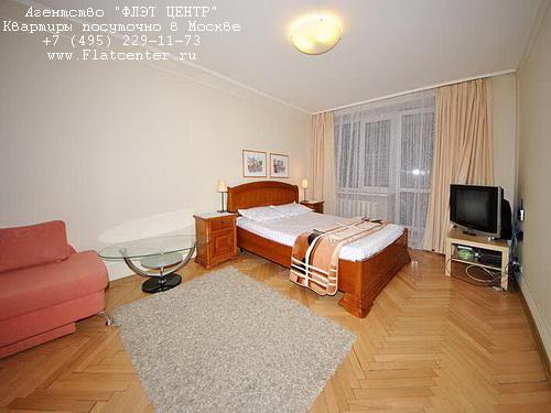 Квартира посуточно на м.Улица 1905 года, Пресненский вал  д. 24  .