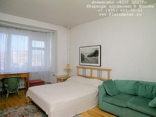 Квартира посуточно на м.Улица 1905 года,Пресненский Вал 4.