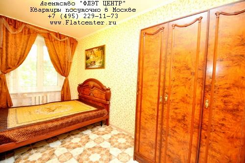 Квартира посуточно на м.Улица 1905 года,Стрельбищенский пер. д.25.