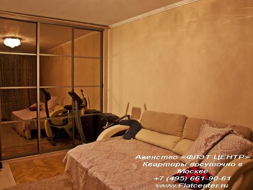 Квартира посуточно на м.ВДНХ,ул.Бориса Галушкина д.14.