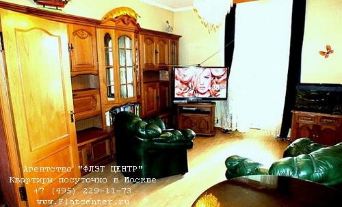 Квартира посуточно вблизи метро ВДНХ, ул.Бориса Галушкина д.17