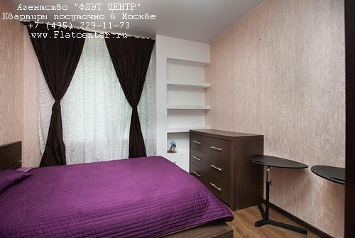 Квартира посуточно рядом с метро ВДНХ, ул.Кибальчича д.2