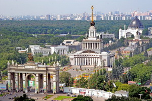 Фото района у м.ВДНХ