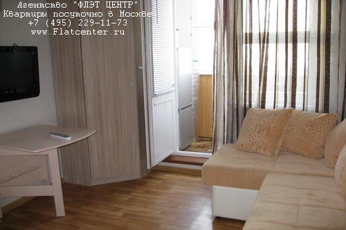 Квартира посуточно на м.Волоколамская,ул.Павшинский бул.д.3.