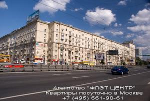 ФЛЭТ ЦЕНТР - Квартиры с посуточной арендой в Москве.