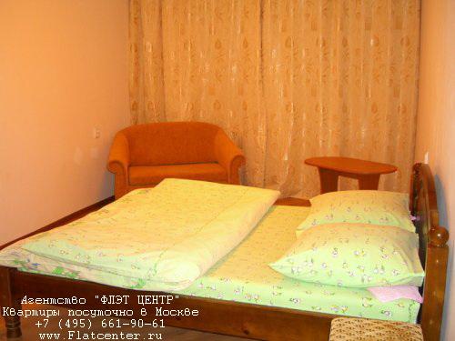 Квартира посуточно м.Выхино.Гостиница на Выхино. Красный Казанец, д.15