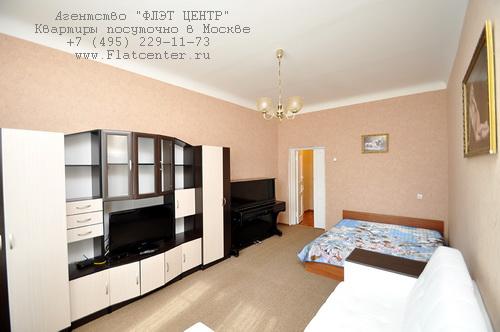 Квартира посуточно на м.Выставочная,2-й Красногвардейский пр-д 2.