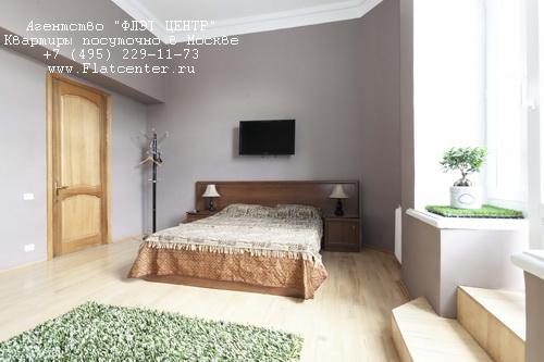 Снять 4-ком квартиру посуточно м.Выставочная, Кутузовский пр-т д.18