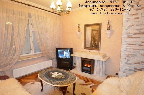 Аренда на сутки м.Выставочная, Шмитовский проезд д.8
